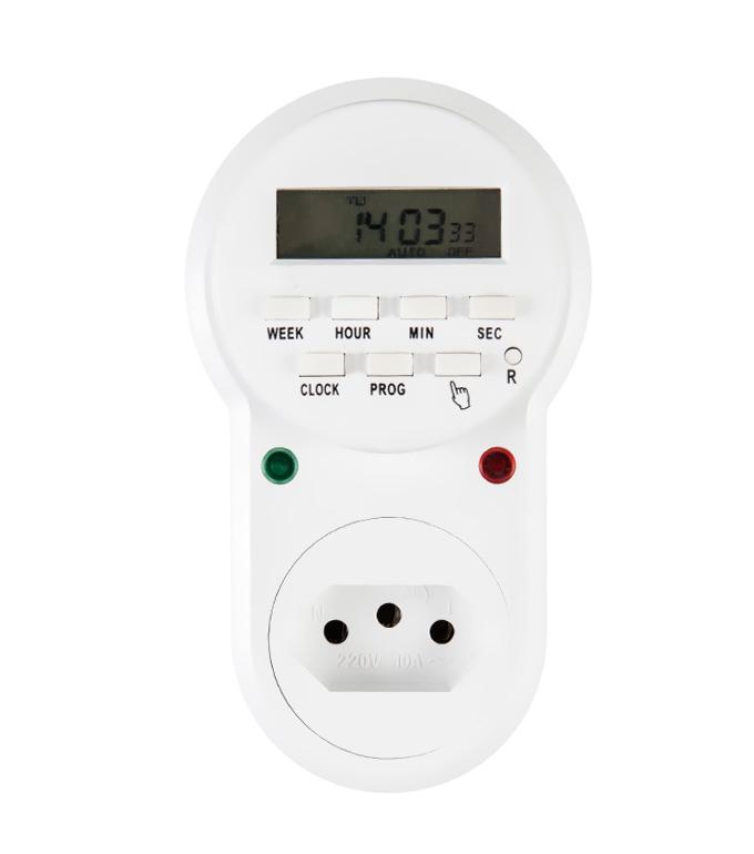 Brazilian Digital Weekly Timer Socket Plug ETB-63A