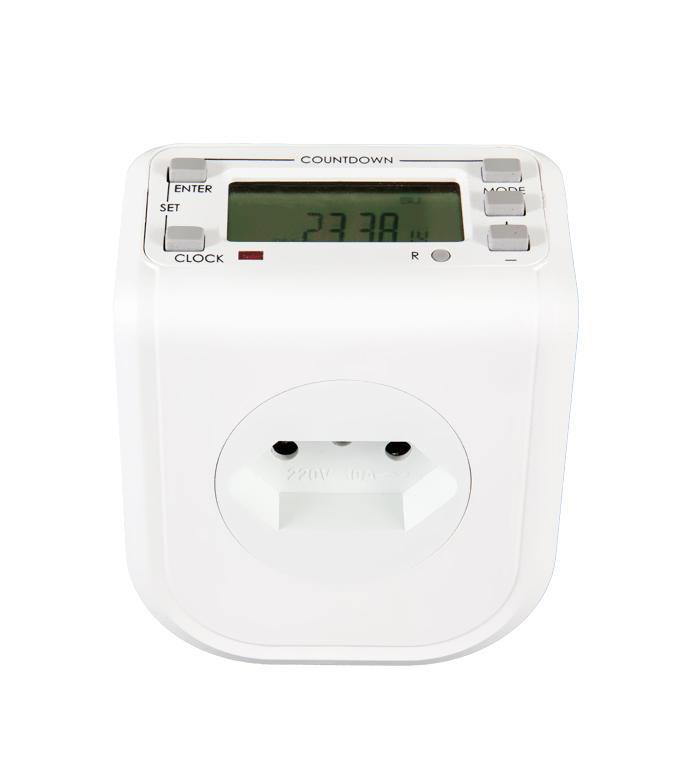 Brazilian Digital Weekly Timer Socket Plug ETB-68A