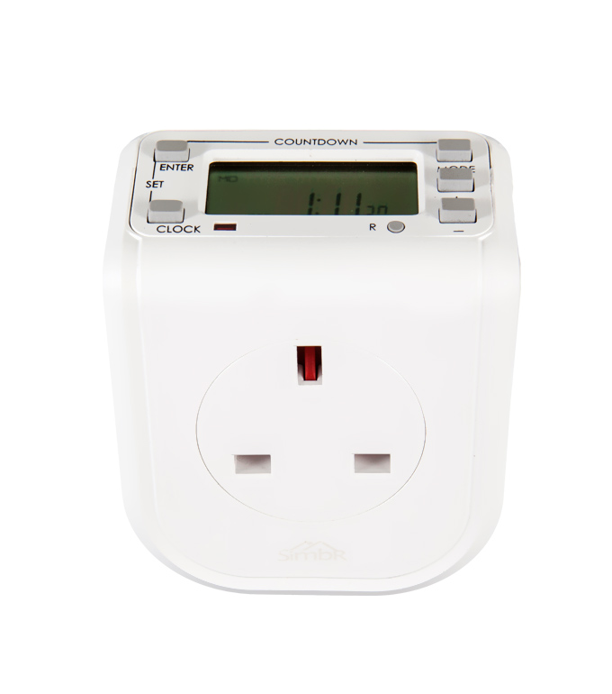 Digital Weekly Timer Socket UK Plug ETE-68A