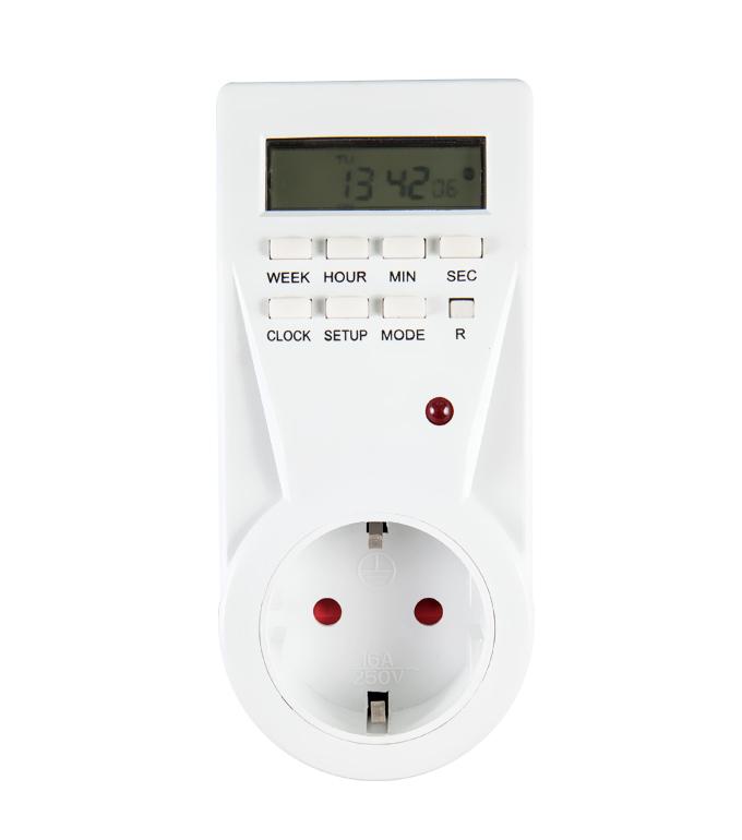Digital Weekly Timer Socket EU Plug ETG-23A