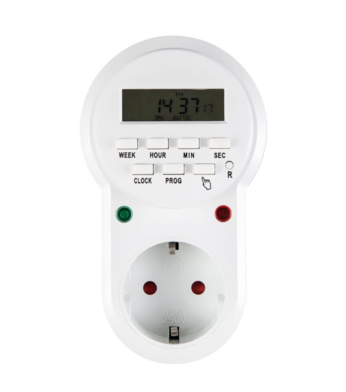 Digital Weekly Timer Socket EU Plug ETG-63A