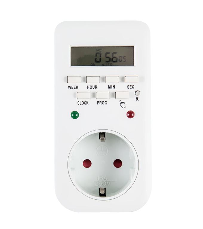 Digital Weekly Timer Socket EU Plug ETG-65A