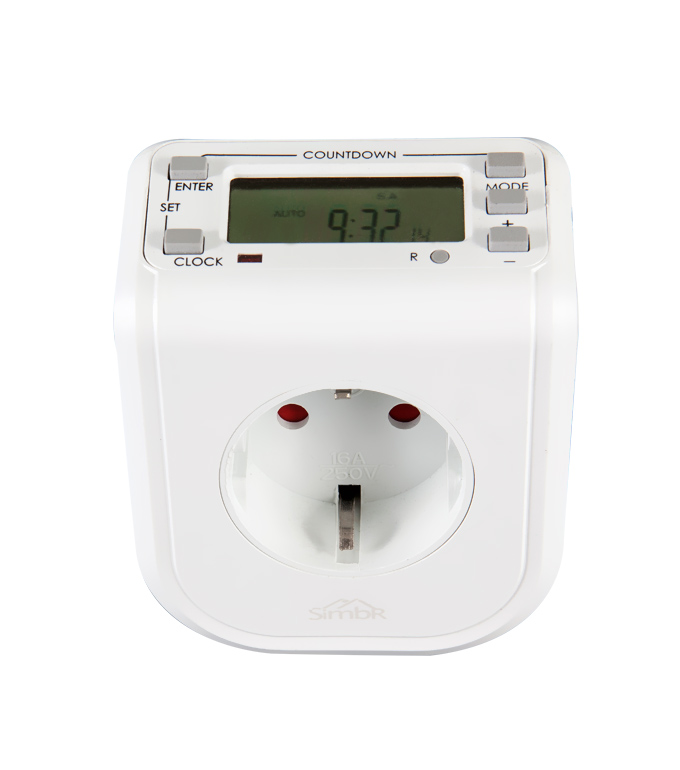 Digital Weekly Timer Socket EU Plug ETG-68A