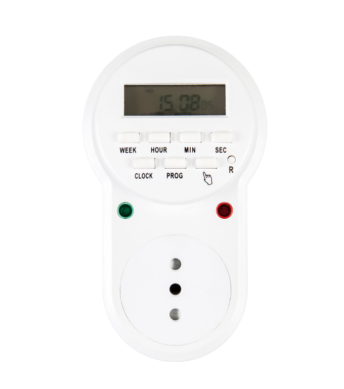 Digital Weekly Timer Socket Chile Plug ETI-63A(B)