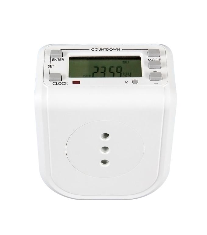 Digital Weekly Timer Socket  Chile Plug ETI-68A(B)