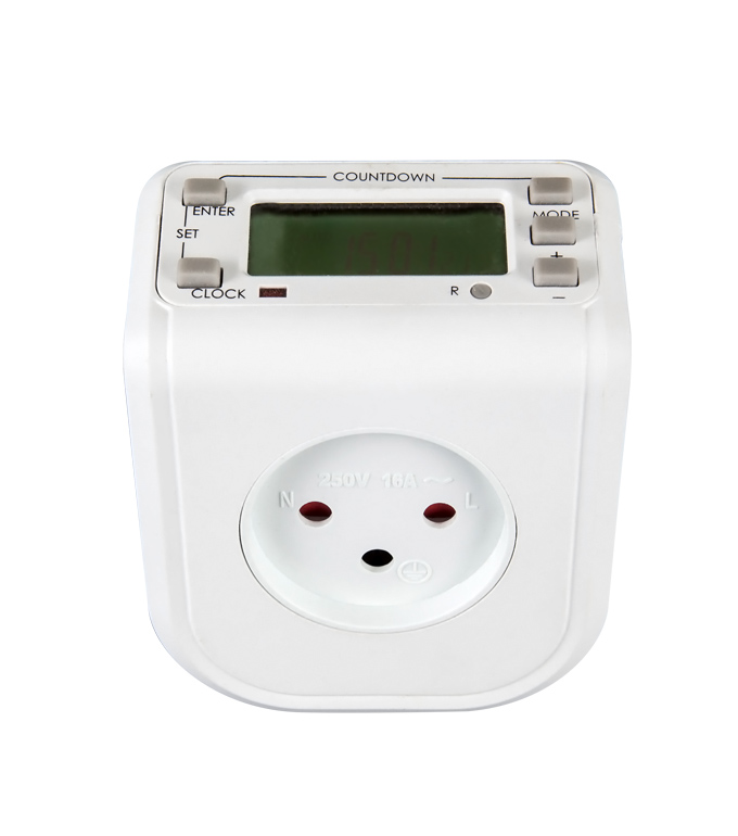 Digital Weekly Timer Socket Israel Plug ETIS-68A
