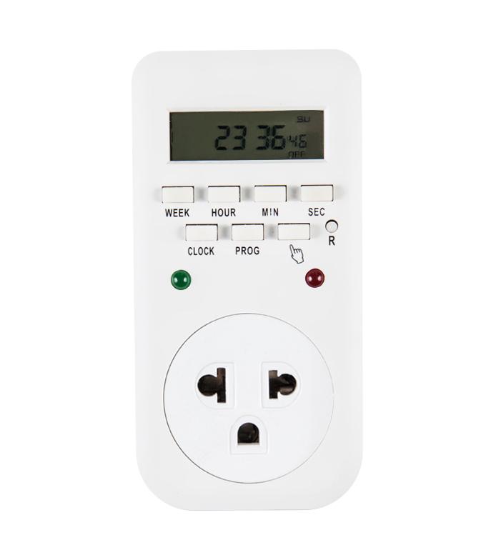 Digital Weekly Timer Socket Thailand Plug ETT-65A