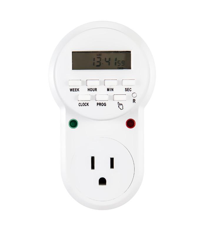 Digital Weekly timer Socket  USA Plug  ETU-63A