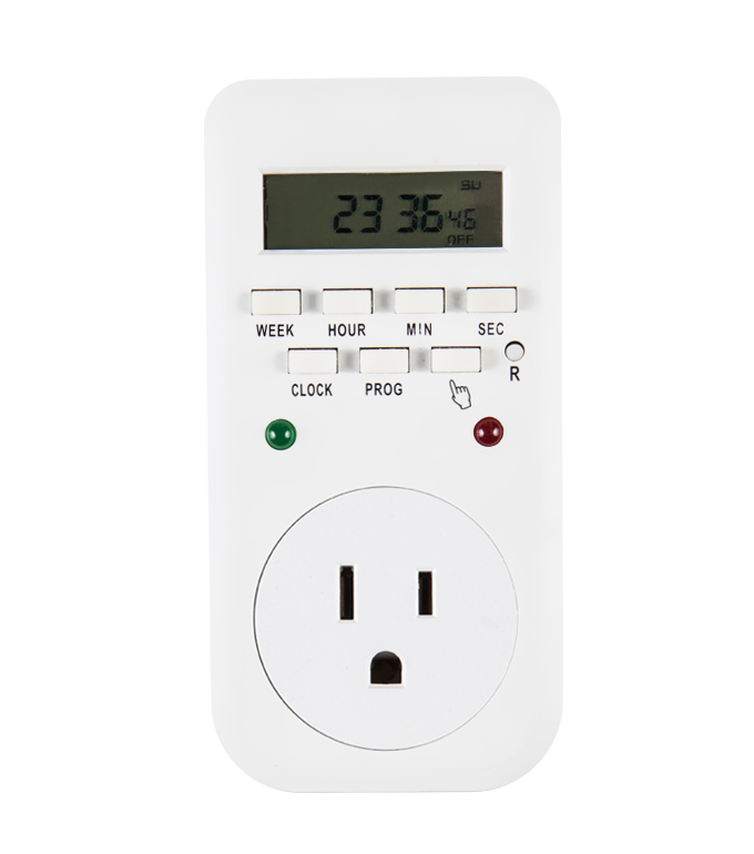 Digital Weekly timer Socket  USA Plug ETU-65A