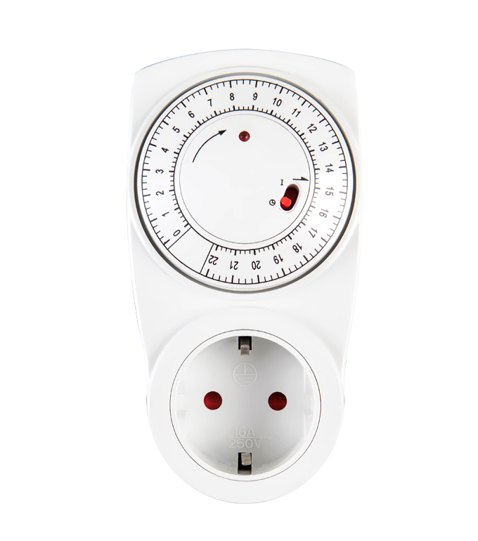 Mechanical 24 Hours Timer Socket EU PlugTG-01D