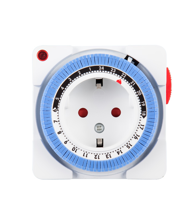Mechanical 24 Hours Timer Socket EU PlugTG-16A