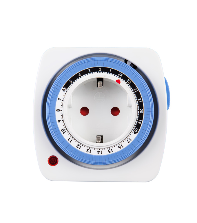 Mechanical 24 Hours Timer Socket EU Plug TG-28A