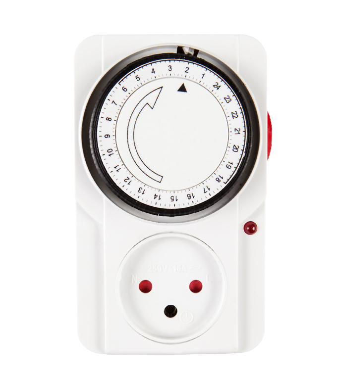 Mechanical 24 Hours Timer Socket Israel Plug TIS-22A
