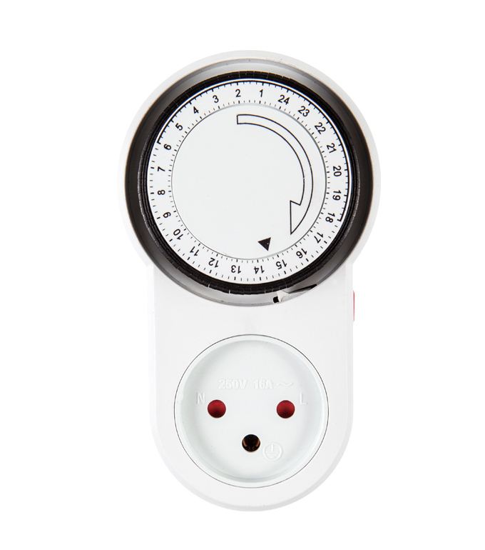 Mechanical 24 Hours Timer Socket Israel Plug TIS-63A