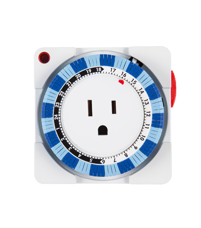 Mechanical 24 Hours Timer Socket USA Plug TU-16A