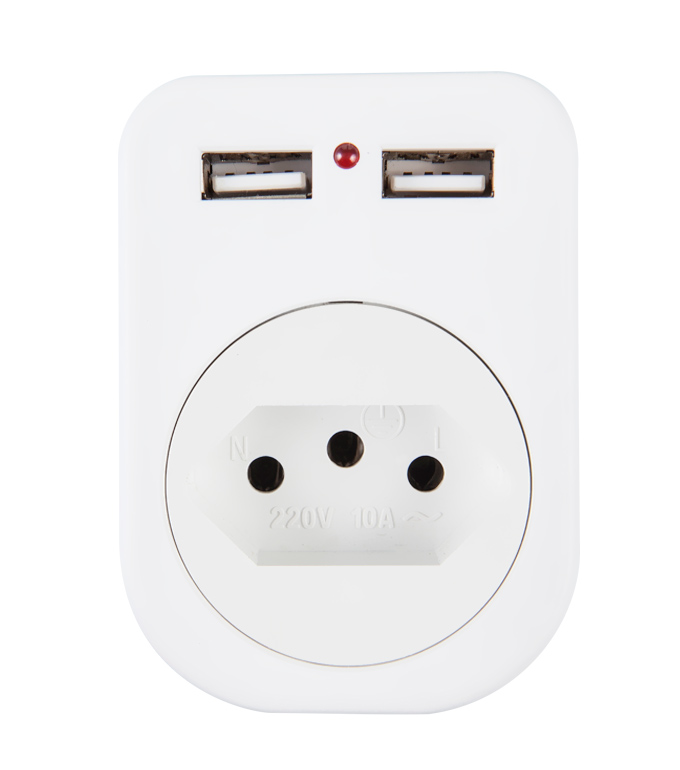 Brazilian USB Socket UB-02A
