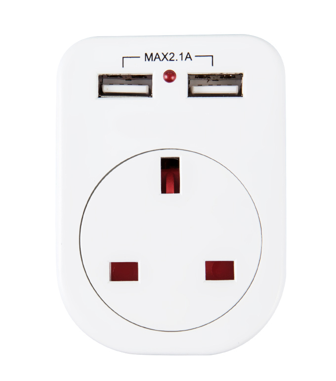 English USB Socket UE-02A