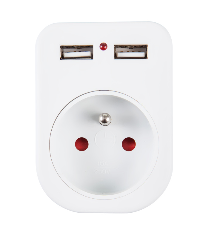 France USB Socket UF-02A