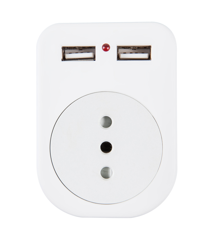 Chile USB Socket UI-02A(B)