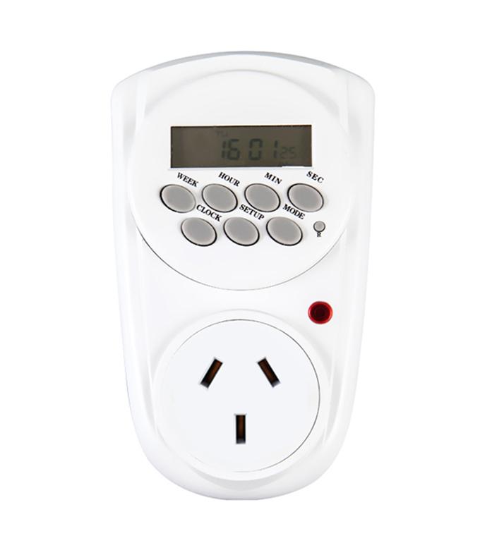 Digital Weekly Timer Socket  Argentina Plug ETA-12A