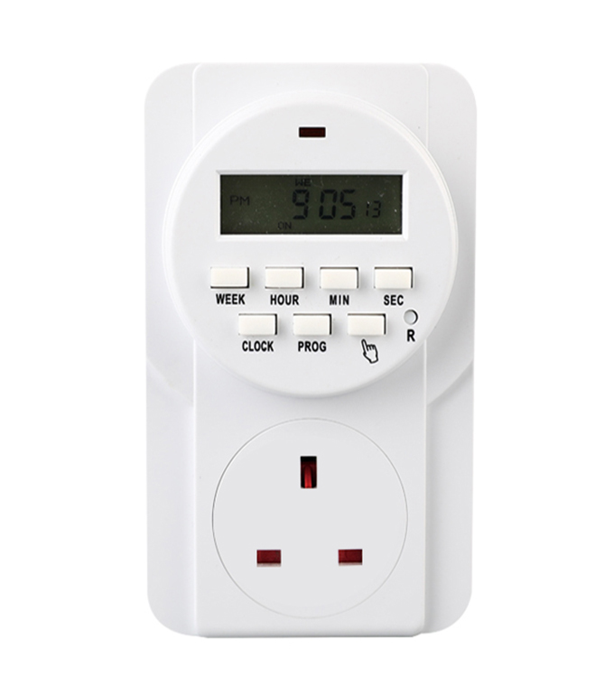 Digital Weekly Timer Socket English Plug ETE-22A