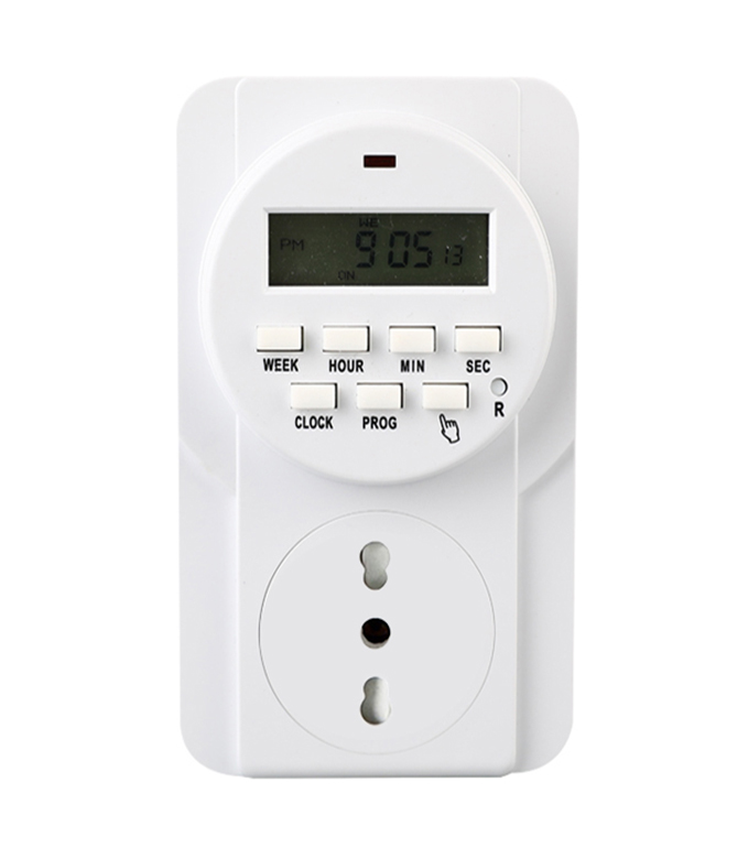 Digital Weekly Timer Socket Italian Plug ETI-22A
