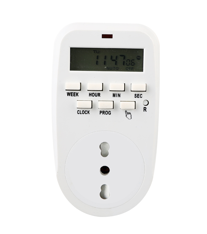 Digital Weekly Timer Socket Italian Plug ETI-88A