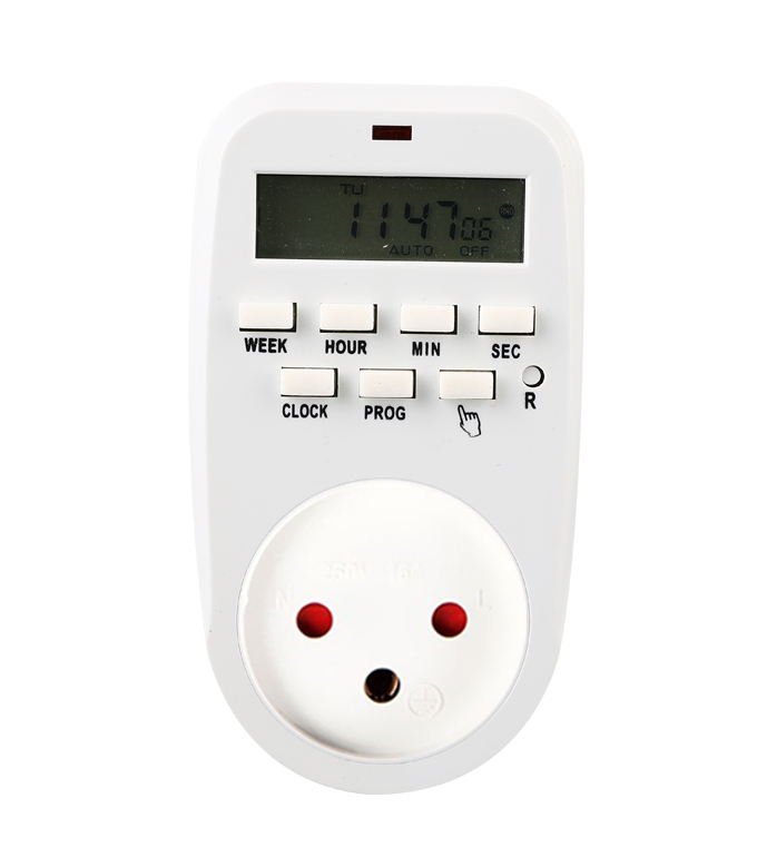 Digital Weekly Timer Socket Israel Plug ETIS-88A