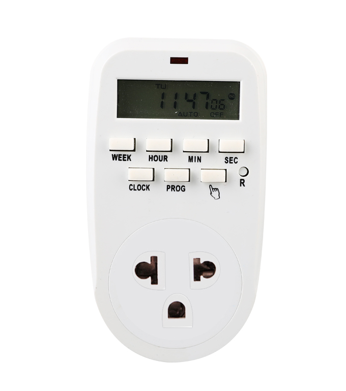 Digital Weekly Timer Socket Thailand Plug ETT-88A
