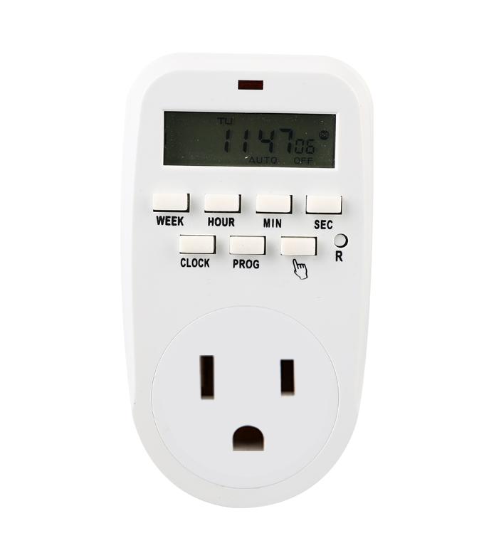 Digital Weekly Timer Socket American Plug ETU-88A