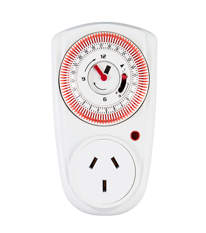 Mechanical 24 Hours Timer Socket Argentina Plug TA-12A