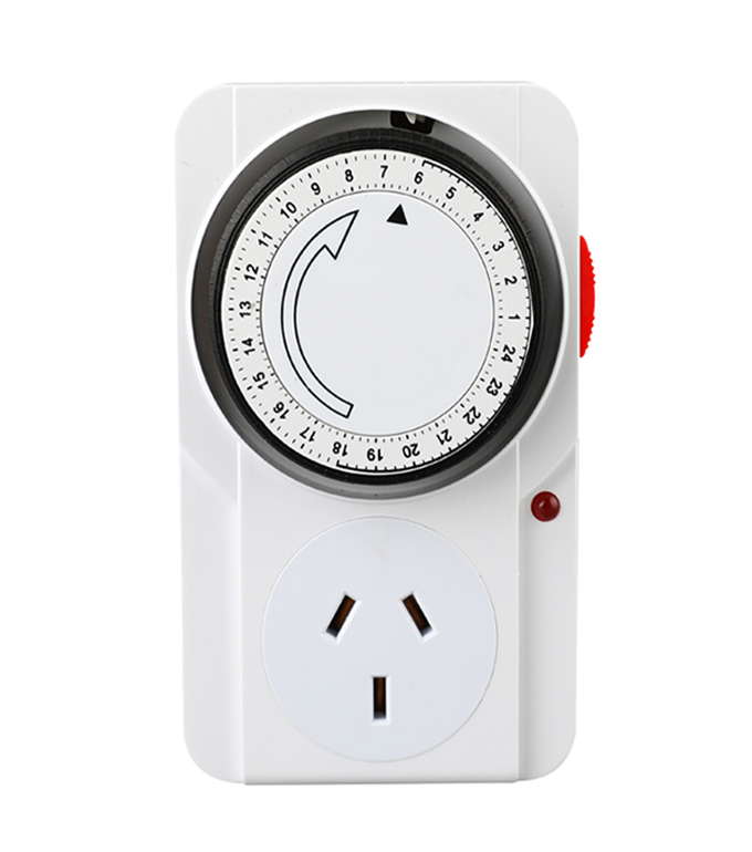 Mechanical 24 Hours Timer Socket Argentina Plug TA-22A