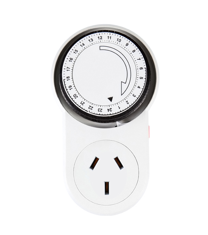 Mechanical 24 Hours Timer Socket Argentina Plug TA-63A
