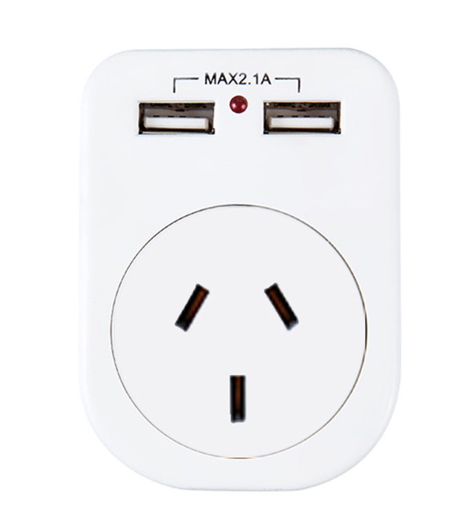 Argentina USB USA Socket UA-02A